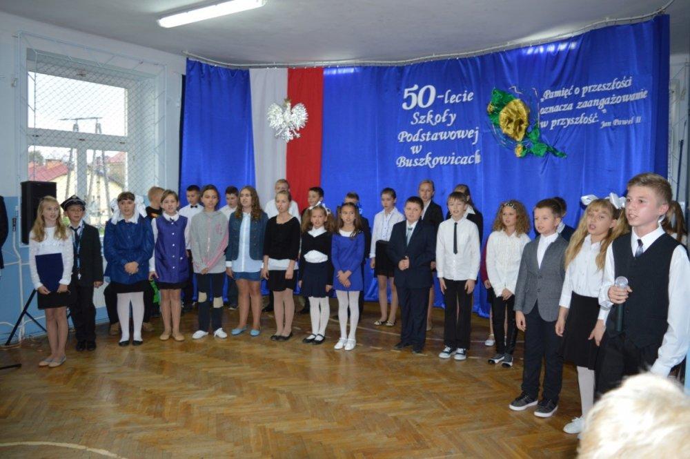Jubileusz 50 - lecia Szkoły Podstawowej wBuszkowicach