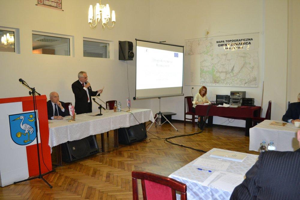 Ostatnia 56 sesja VI kadencji Rady Gminy Żurawica